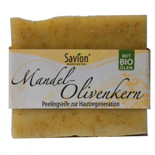 Koerperseife-Mandel-Olivenkern