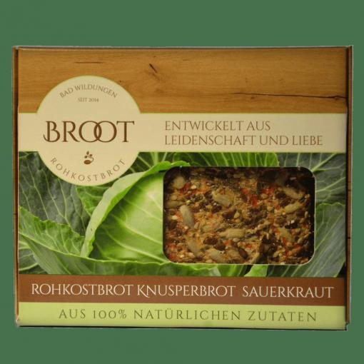Rohkostbrot-Sauerkraut