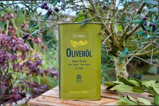 Bio-Olivenöl nativ extra Peloponnes3000ml Kanister Peloponnes nativ extra