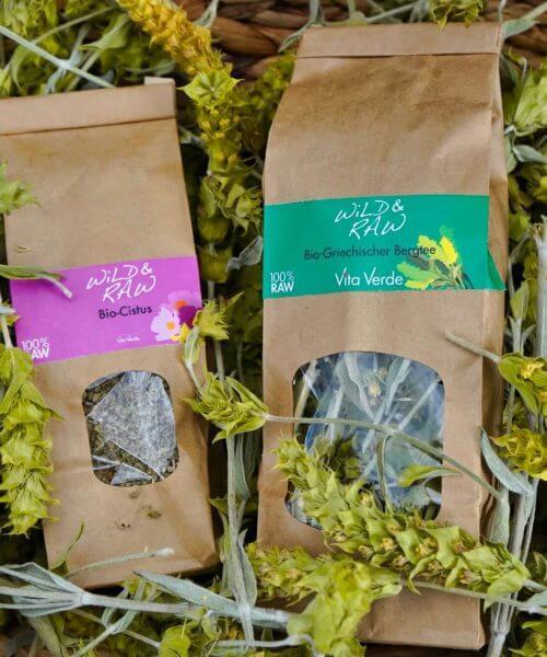 Wild & Raw - Kräuter, Tee