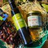 Bio Feinschmecker Set Olivenöl Oliven und Bärlauch Pesto mit Tomate