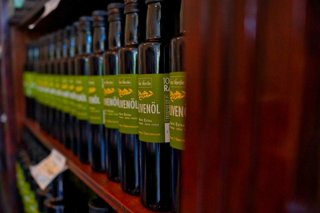 Olivenöl im Naturhof