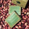 Aleppo Seife Sharabati mit 20% Lorbeeröl Umkarton und 2 Stücke Seife
